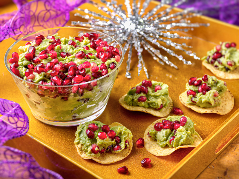 Pomegranate Guacamole | Recipes | ¡Yo Quiero! Brands