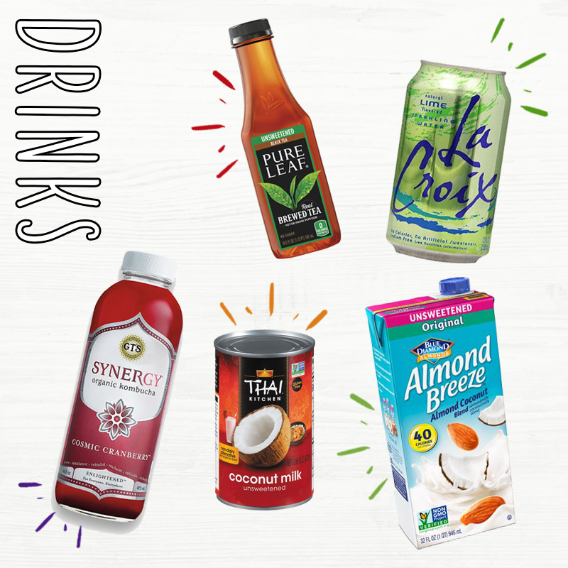 Albertsons Whole30 Grocery List | Whole30 Drinks