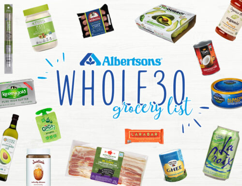 Albertsons Whole30 Grocery List