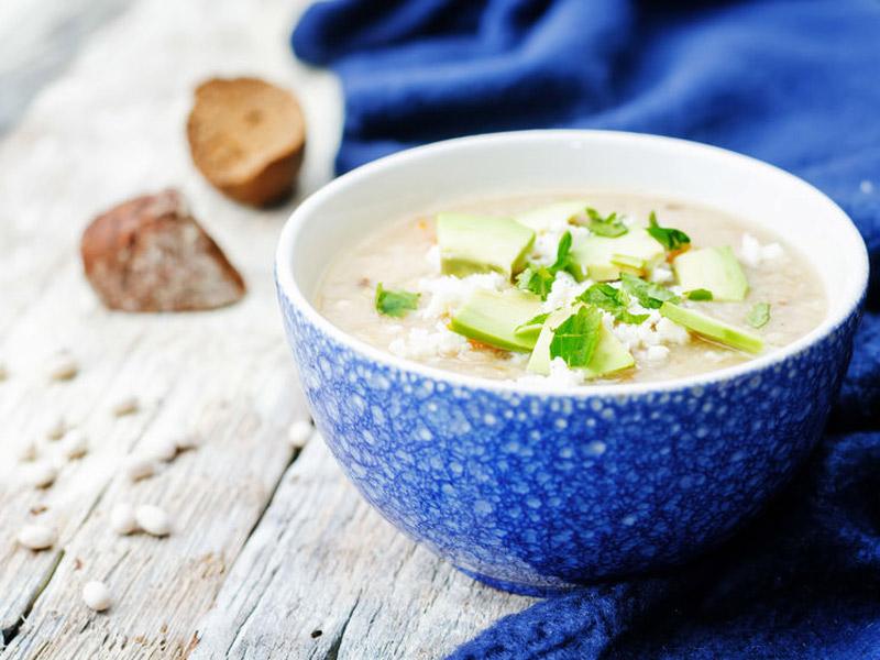 Whole30 Chicken Avocado Lime Soup | ¡Yo Quiero!™️ Brands