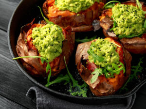 Whole30 Taco Stuffed Sweet Potatoes