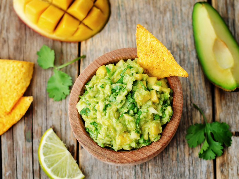 Mango Guacamole | Summer Recipes | ¡Yo Quiero! Brands