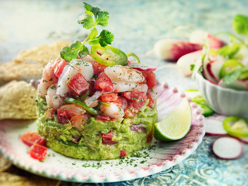 Shrimp Ceviche with Avocado | Recipes | ¡Yo Quiero!™️ Brands