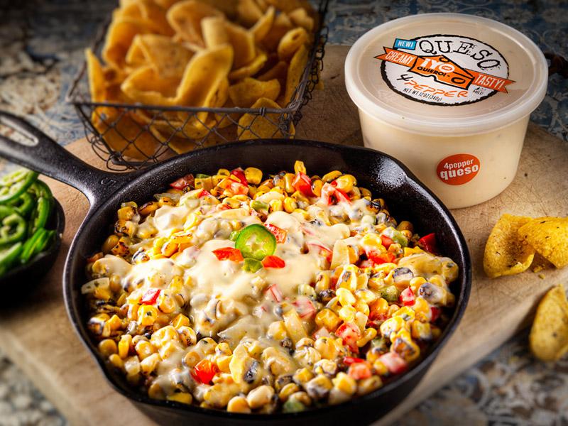 Queso Corn Dip | Summer Recipes | ¡Yo Quiero!™️ Brands