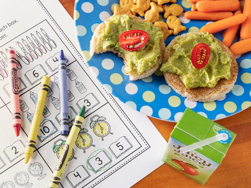 Kid-Friendly Avocado Toast | Back to School | ¡Yo Quiero! Brands™