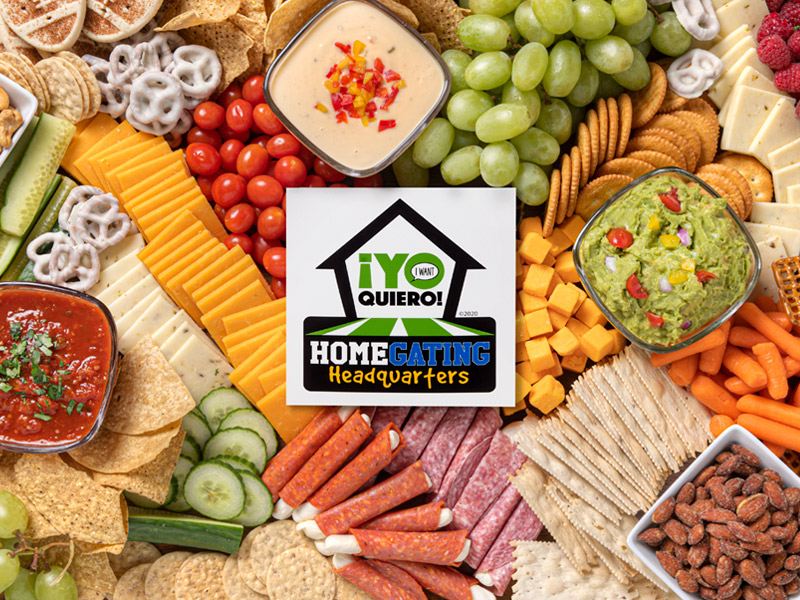 Homegating Headquarters | Recipes & Party Tips | ¡Yo Quiero!™️ Brands