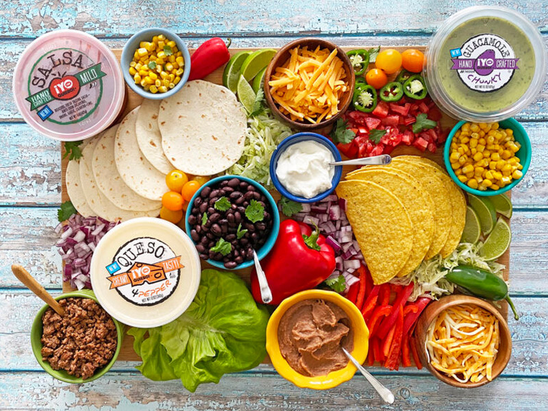 The Ultimate Taco Board | Healthy Family Project | ¡Yo Quiero!™️ Brands
