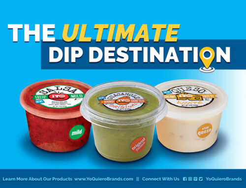 ¡Yo Quiero! Brands Provides the Ultimate Dip Destination for The Big Game