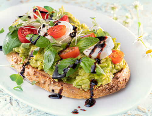 Bruschetta Avocado Toast