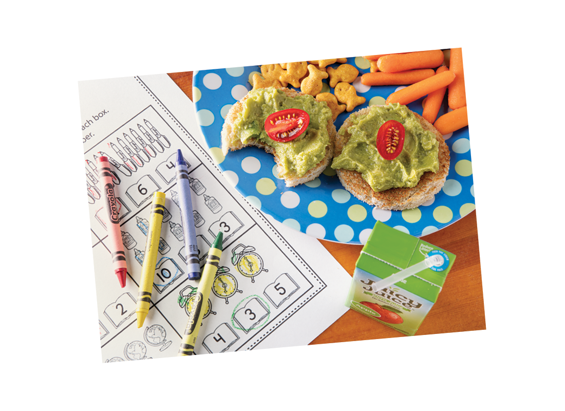 Kid-Friendly Avocado Toast | Back to School Snacks | ¡Yo Quiero!™️ Brands